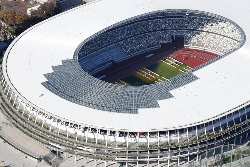 The National Stadium is the main arena of the 2020 Olympic Games