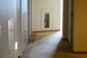 Hotel passage way