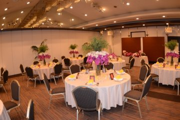 One of the Banquet halls