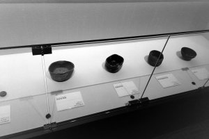 A selection of tea bowls made or used by Sen-no-Rikyu