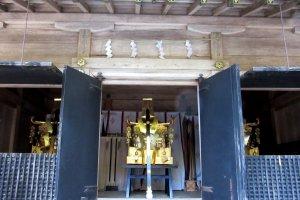 Mikoshi - a portable shrine for festivals