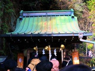Worship at the shrine