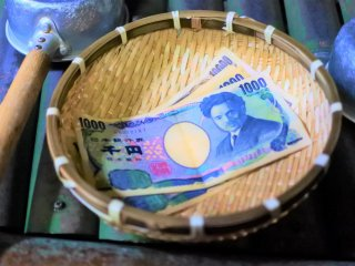 Washing money with spiritual water
