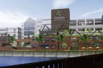 Coaska Bayside Stores Opening in Yokosuka