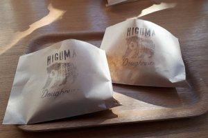 Morning doughnuts at Higuma, Omotesando