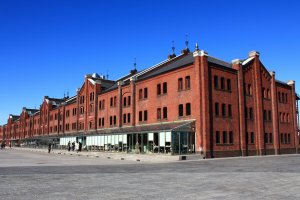 The event takes place at Yokohama's Red Brick Warehouses