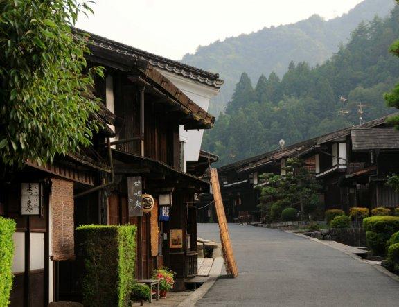 Цумаго-дзюко в долине Кисо