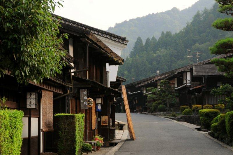 Tsumago's main street