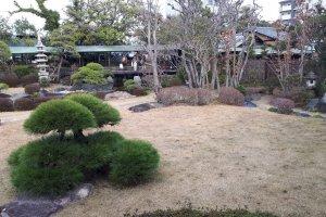 Winter at Suikei-en