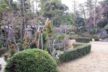 Suikei-en landscaping