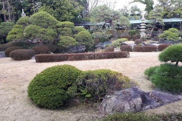 Elegant landscaping