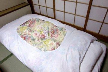 Спать на футоне очень удобно