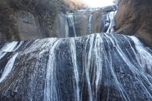 Winter at Fukuroda Falls