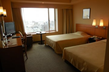 All rooms have ample space