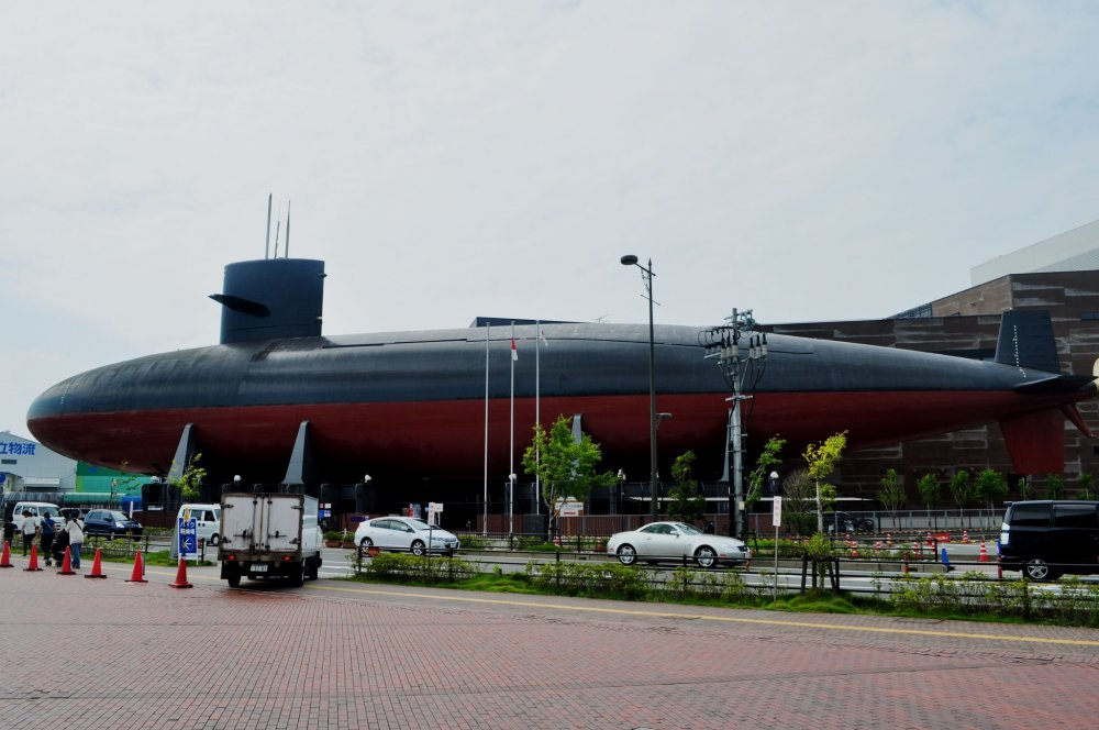 Finding the museum is easy; just look for the submarine located right outside the building.