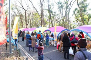 The event draws in the crowds