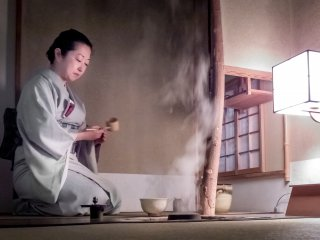 The first part of this ceremony features 'Koi-cha'; a strong green, bitter tasting tea where several guests take a sip from the same bowel. This is said to help signify a sense of sharing, a key element of Japanese culture