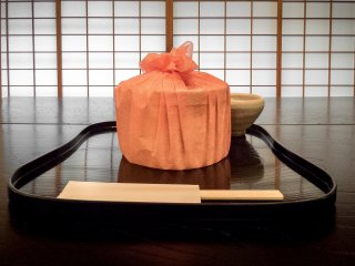 After both tea ceremonies are finished, guests are then treated to traditional Japanese 'Bento'-style lunch