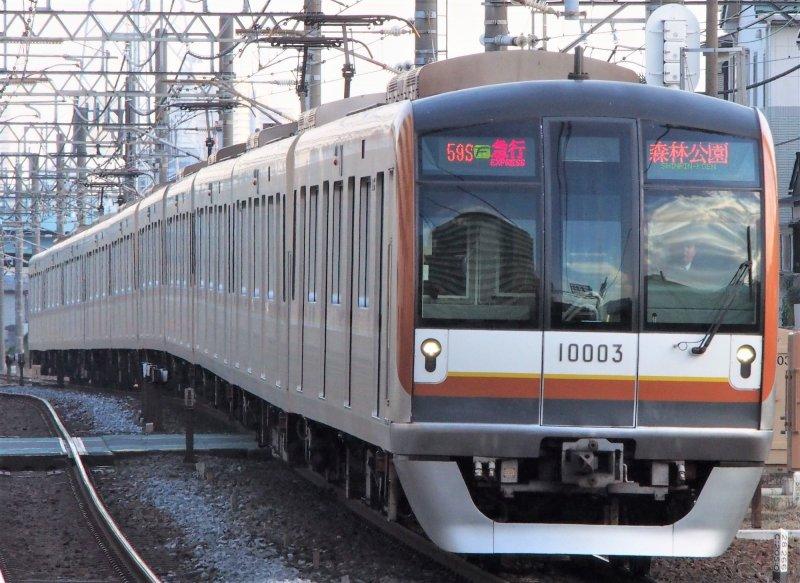 Fukutoshin Line train