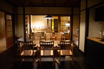 Lounge and study area at Satoumitei