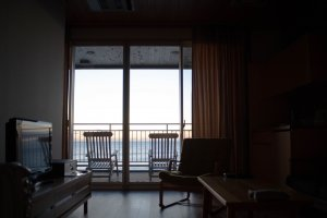 Satoumitei room with sea view