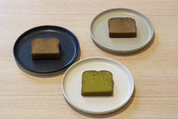 Tea and Sake Cakes
