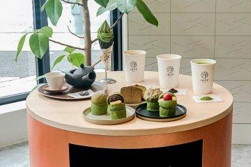 """Чайное кафе """"CHAYA"""" в отеле """"1899 Tokyo"""""""