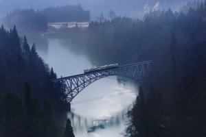 Tadami River Bridge Viewpoint
