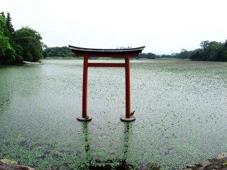 Hồ nước tại đền Somo