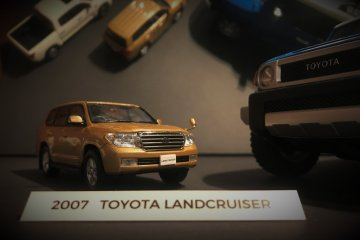 Toyota Landcruiser in all its forms in the miniatures gallery
