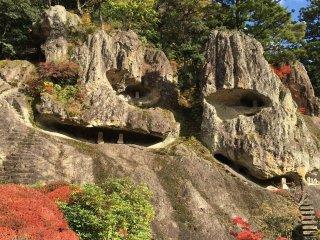 Enchanted rocky outcrop