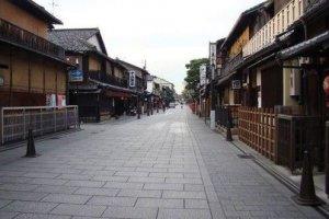 京都特有的下町风情