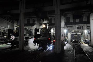 Kyoto Railway Museum: steam engines