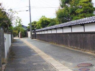 Hagi Castle Town street