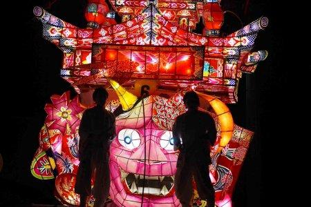 津沢夜高行燈祭り(つざわよたかあんどんまつり)
