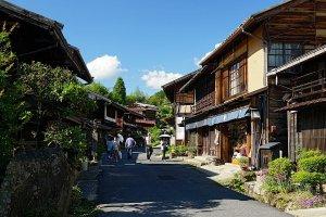 "Le village ""étape"" Tsumago"