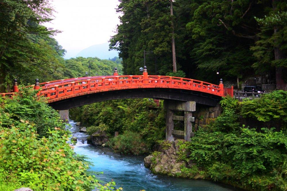 Shinkyo Bridge and Daiya River