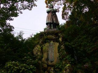 A statue of Itagaki Taisuke