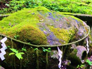 The mossy Kodane stone