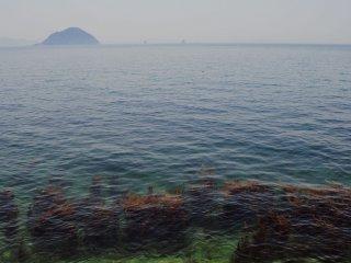 Làn nước ở Matsuyama trong vắt đến kinh ngạc.