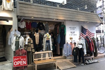 'SLUT' Used Clothing Store