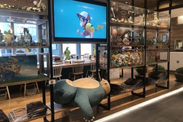 Pokemon Cafe Nihonbashi