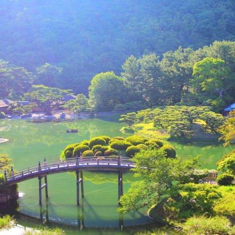 Ritsurin Park in Kagawa