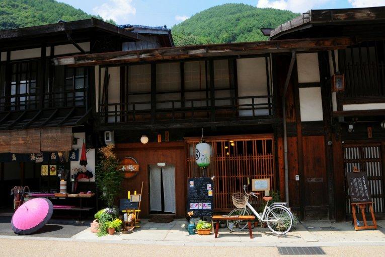 ร้าน Fuka Cafe ที่ Narai-juku