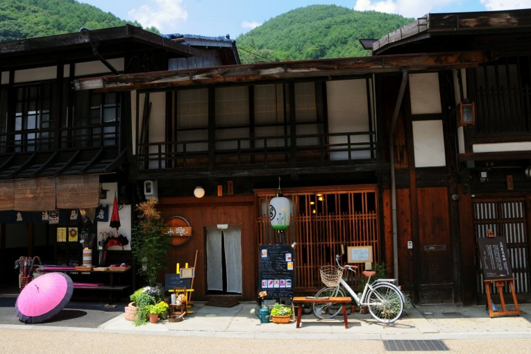 Narai-juku's Fuka Cafe