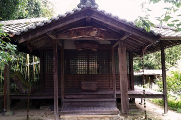 An old building along the Koya Kaido with an interesting tale
