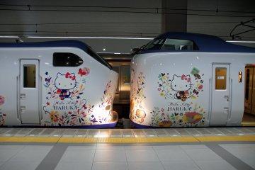 The Haruka trains are too cute!