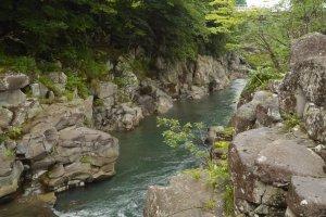 Genbikei Gorge, Iwate