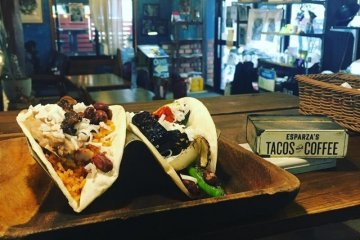 Esparza's Tacos and Coffee have multiple vegan options to choose from