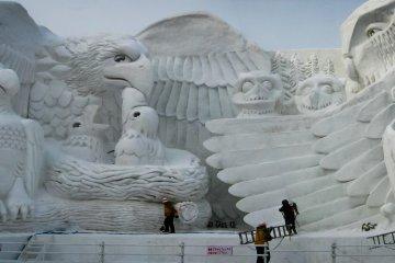 Sapporo Snow Festival, Hokkaido